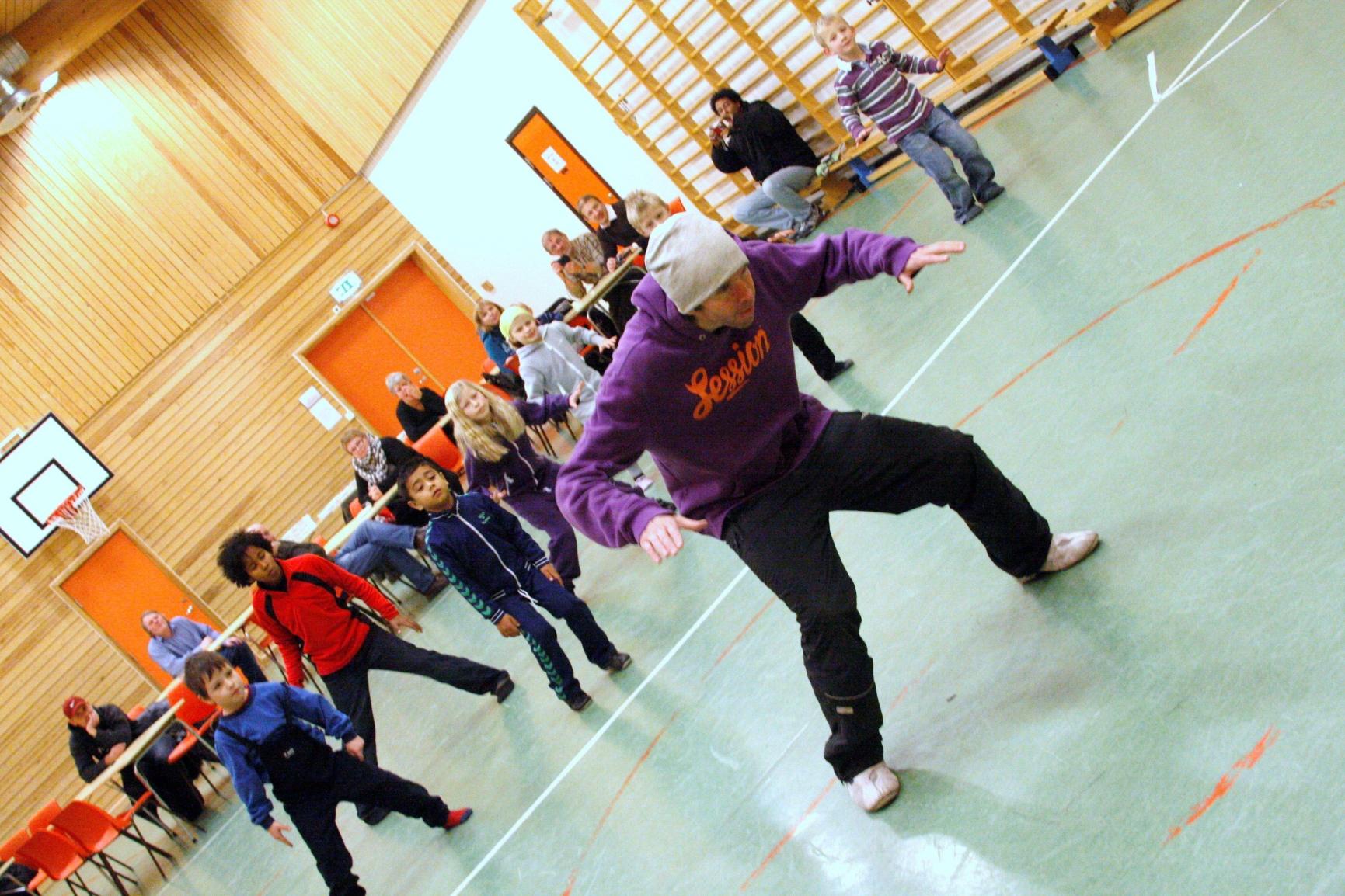 Lindeberg danser