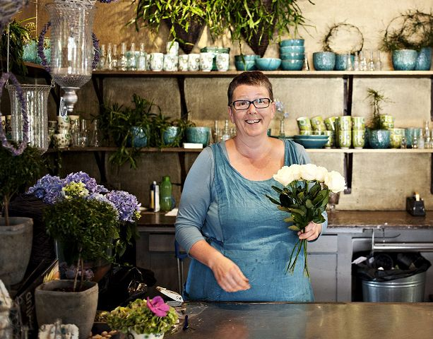Marit Bergem (Interflora Rasmussen):