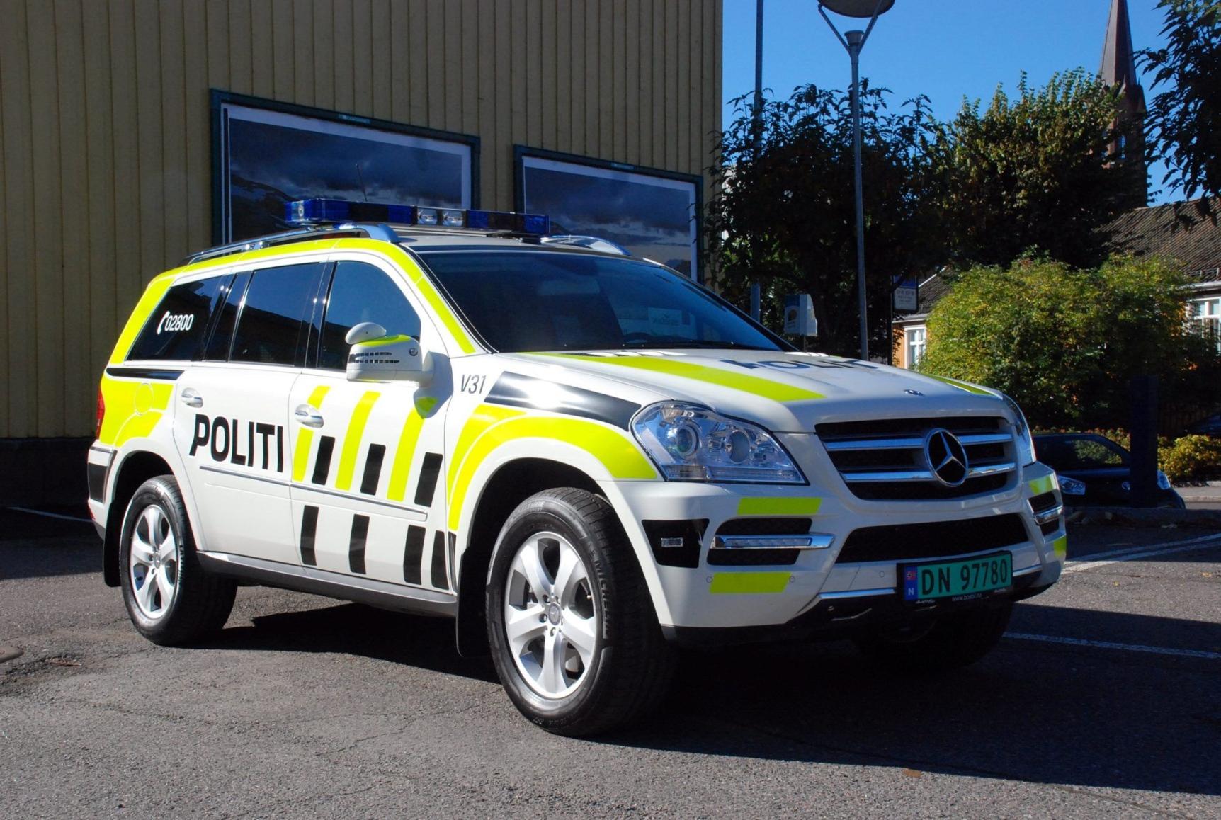 Ny Politibil Til Vestfold Gg