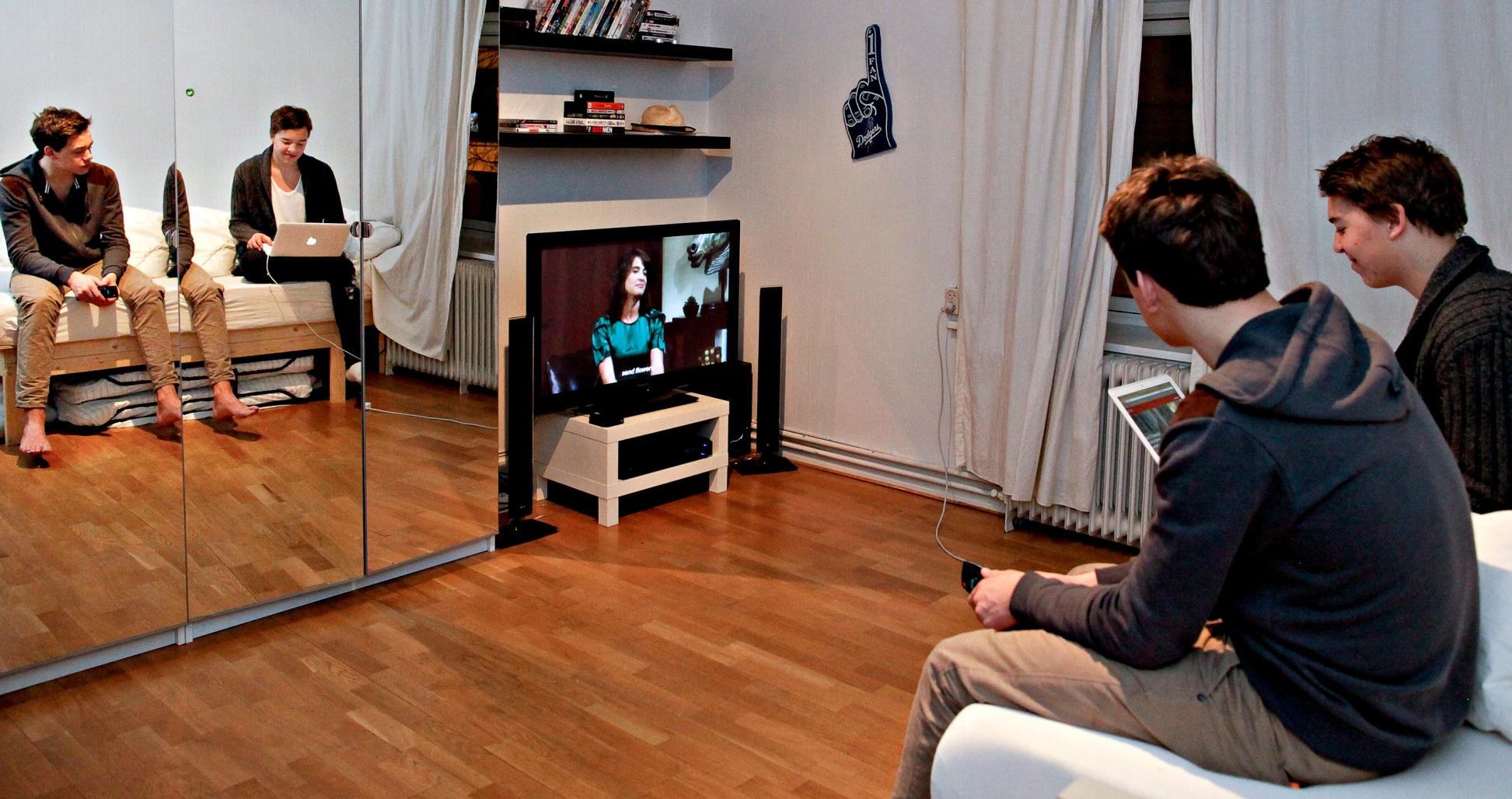 TV PÅ ROMMET