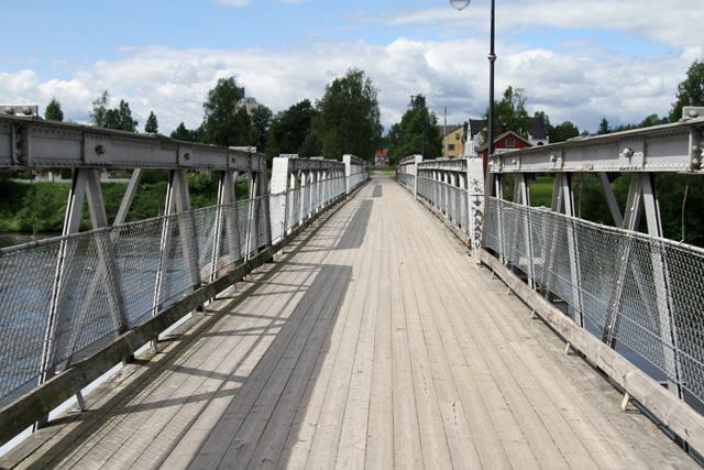 0,6 km - Gammelbrua