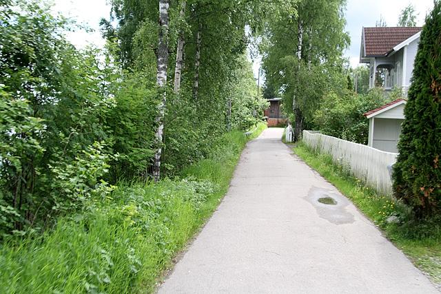 1,0 km - Magnus Hamlanders veg