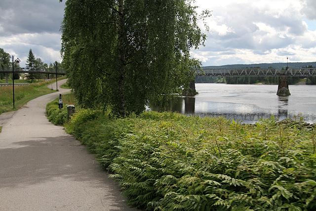 4,5 km - gang- og sykkelveg Glomma