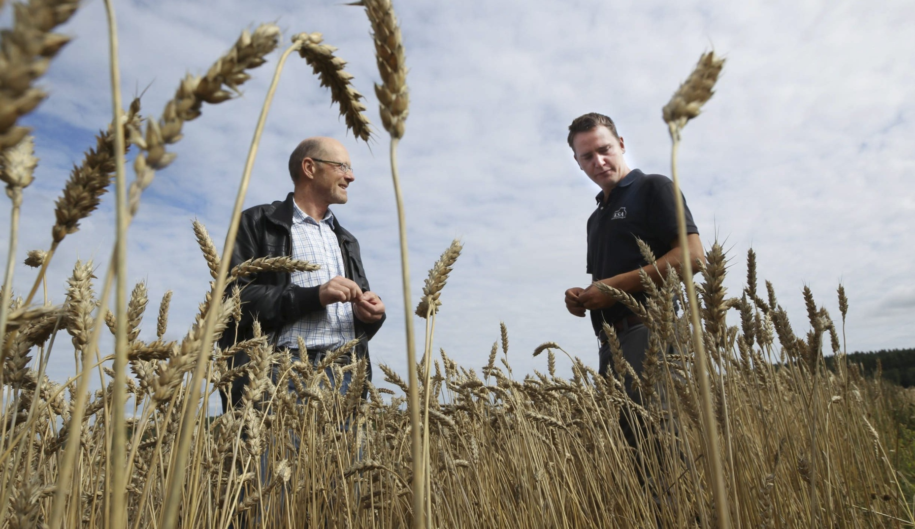 601d1bbf Matjorden i Follo er gull verd, så utbyggingen kan ikke tyte utover. Dette  mener både landbrukssjef Lars Martin Julseth og bonde Kristian Prestrud.