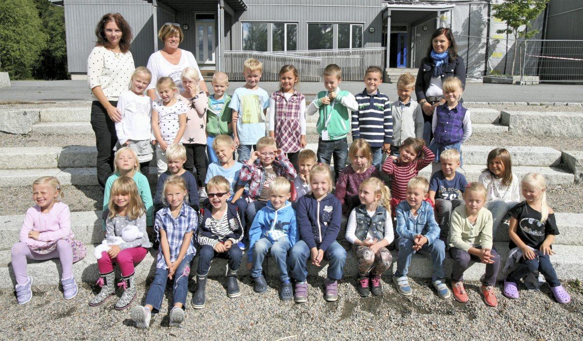 Kirkebygden skole 1.klasse 2014/2015