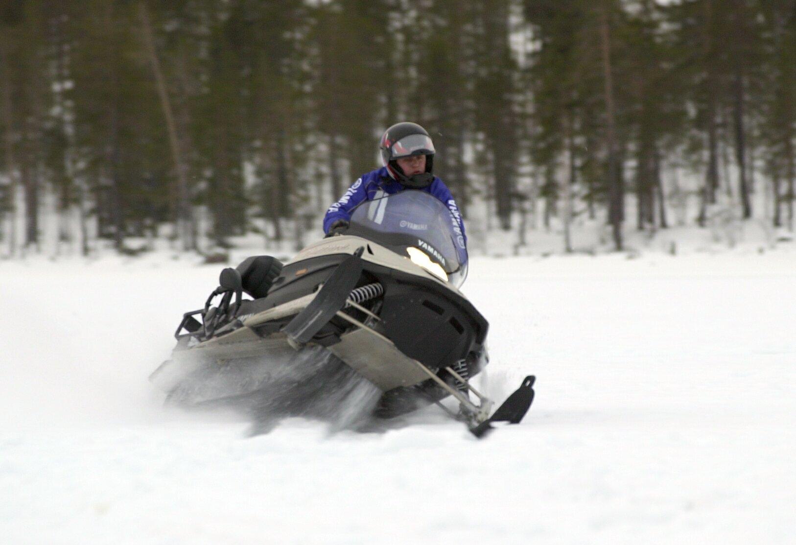 Snøscooter seljord
