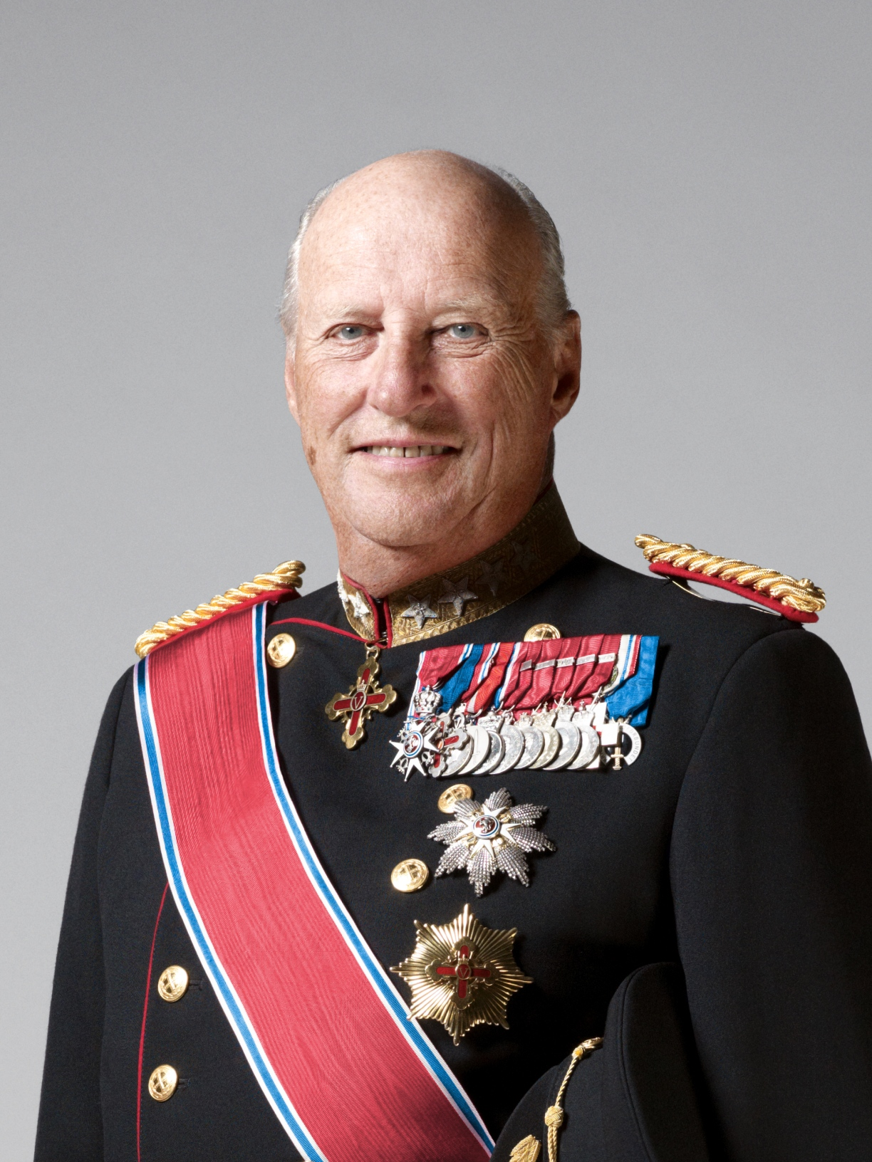 Hans Majestet Kong Harald V