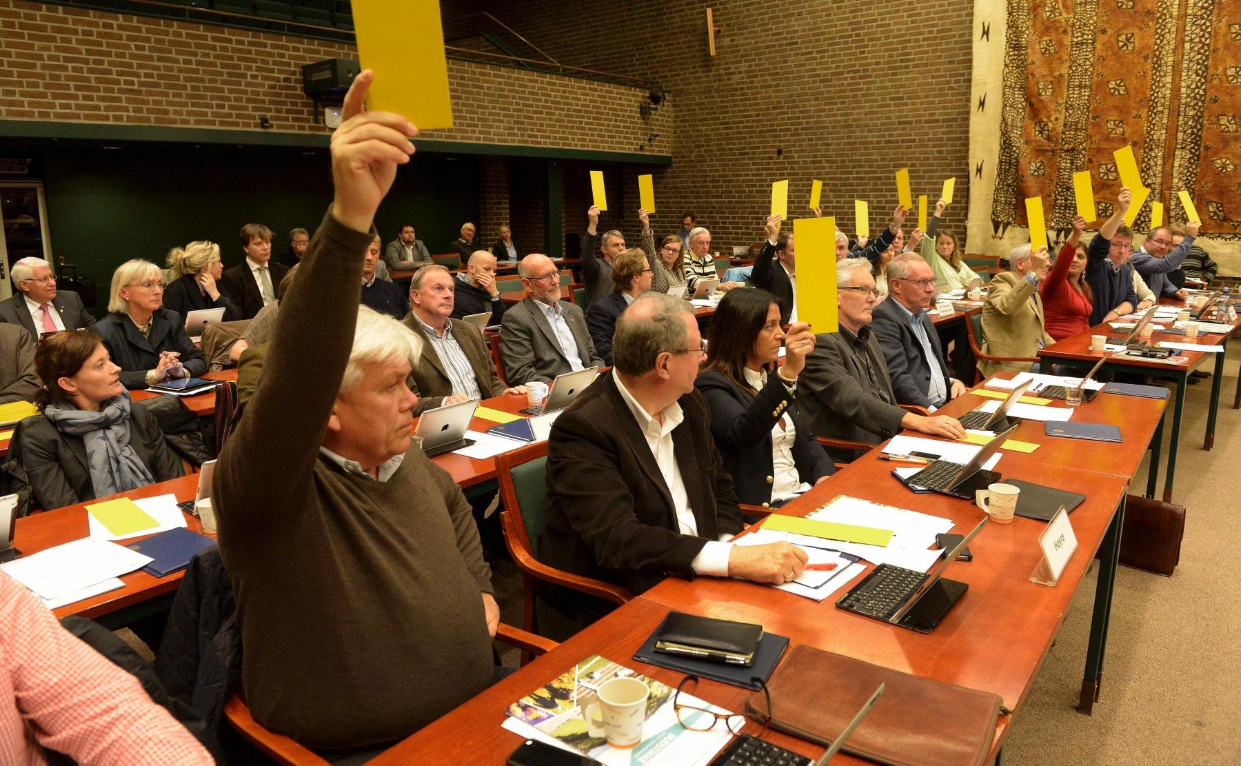 Bystyret stemmer om flyktninger