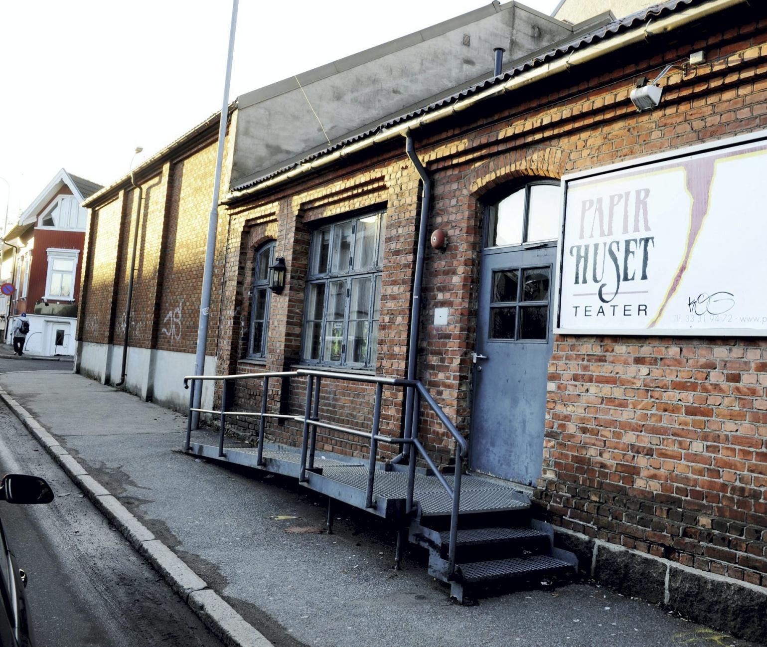 Papirhuset teater: