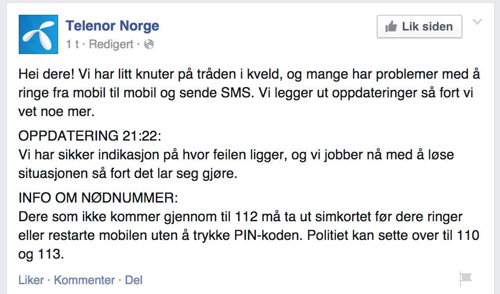 KNUTE PÅ TRÅDEN: