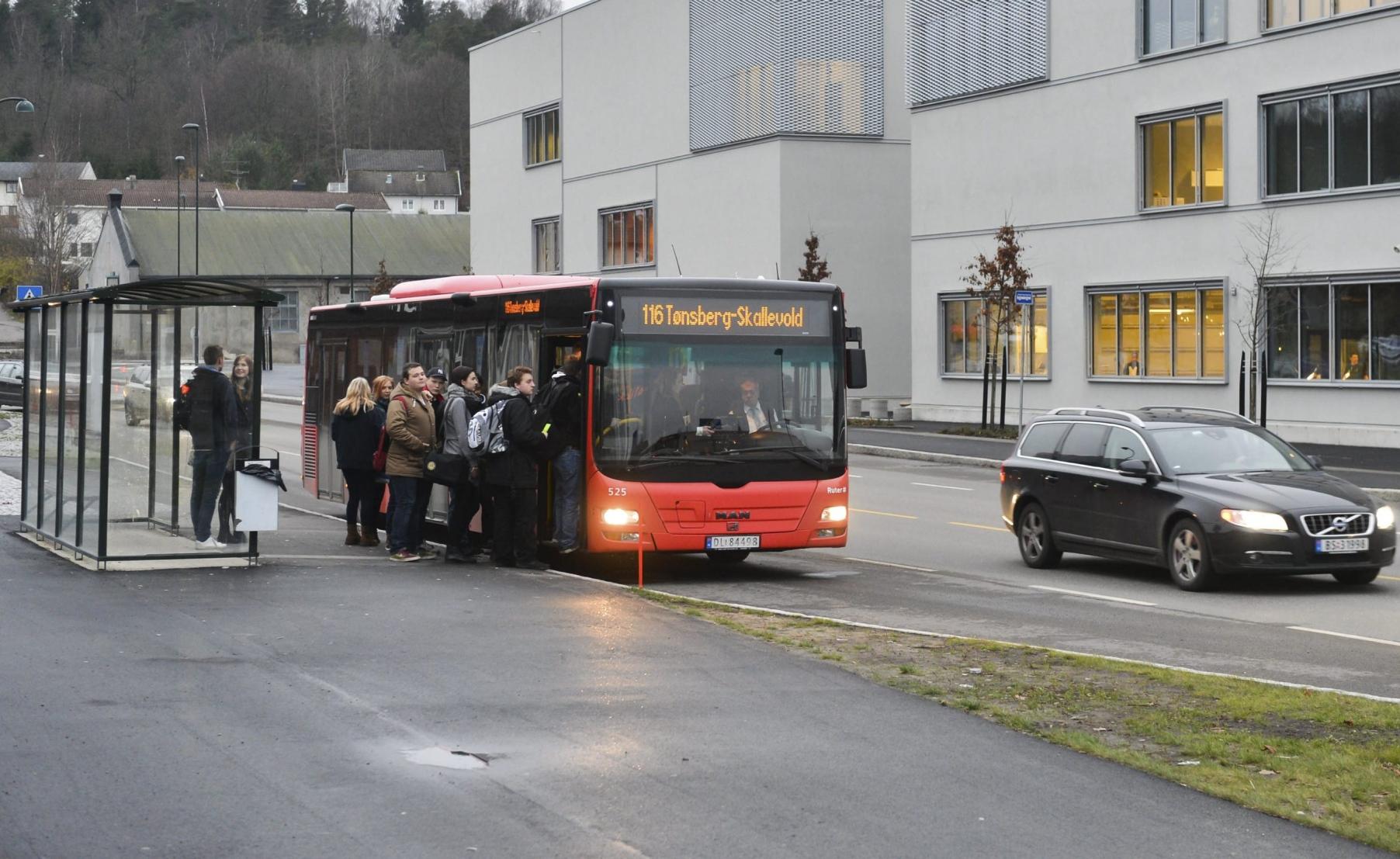 FÆRRE MATPAKKEKJØRERE: