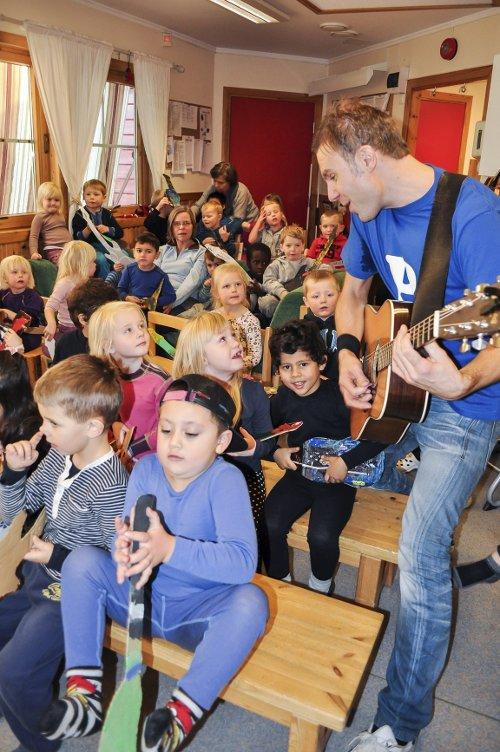 Julekalender Møllen hof barnehage